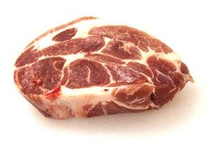 画像1: 米沢産天元豚 肩ロースブロック 500g ( 角煮・チャーシュー用 )