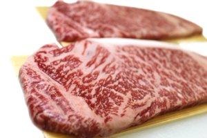 画像1: 山形牛 黒毛和牛 霜降りサーロインステーキ 150g×2枚