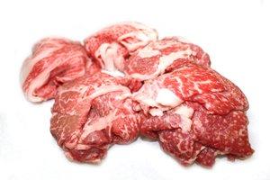 画像1: 山形牛黒毛和牛 霜降り切り落し 500g (肉じゃが・炒め物・牛丼用)