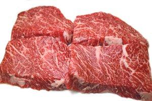 画像1: 山形牛黒毛和牛 やわらかミニステーキ 100g×4枚