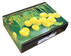 画像1: 幸せを呼ぶ黄色いさくらんぼ 月山錦 1kg  (希少品)